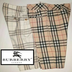 Two Burberry Shorts!